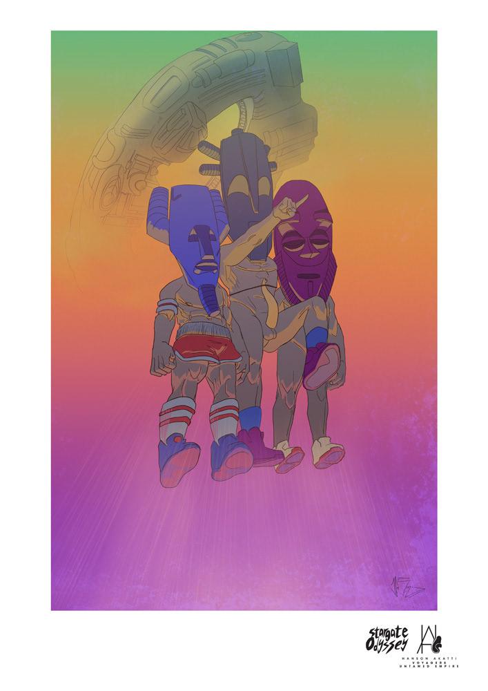 Voyagers by Hanson Akatti