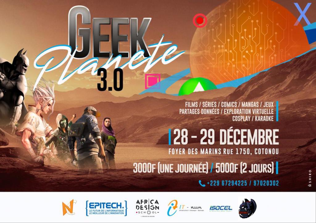 Geek Planete 3.0 Benin