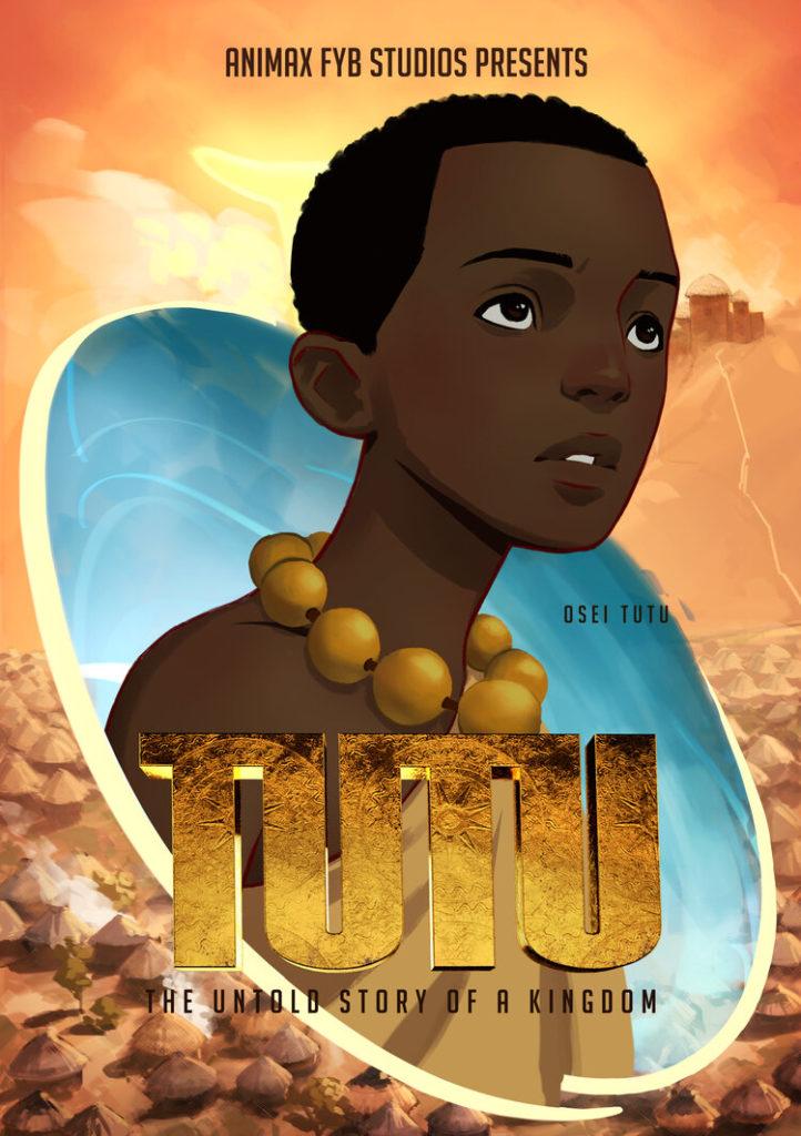 Osei Tutu main character in Tutu: Untold Story of a Kingdom