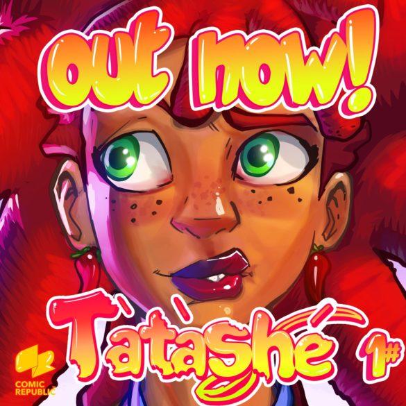 Tatashe comic promotional cover