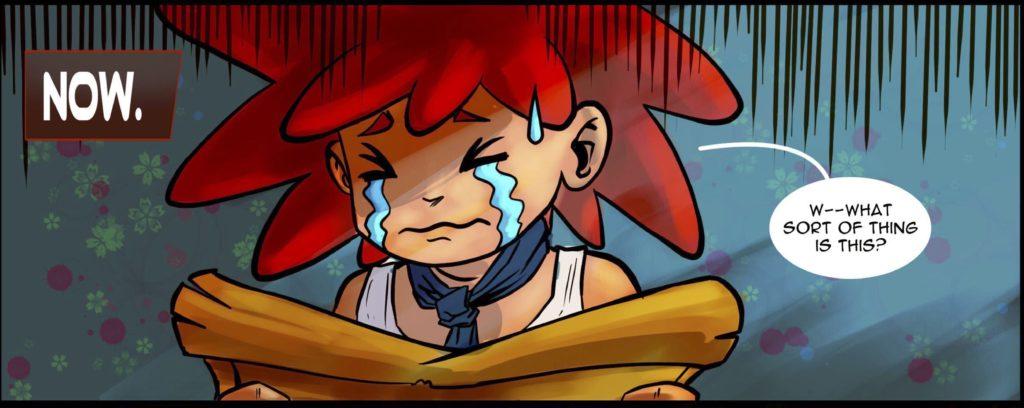 Tatashe in tears