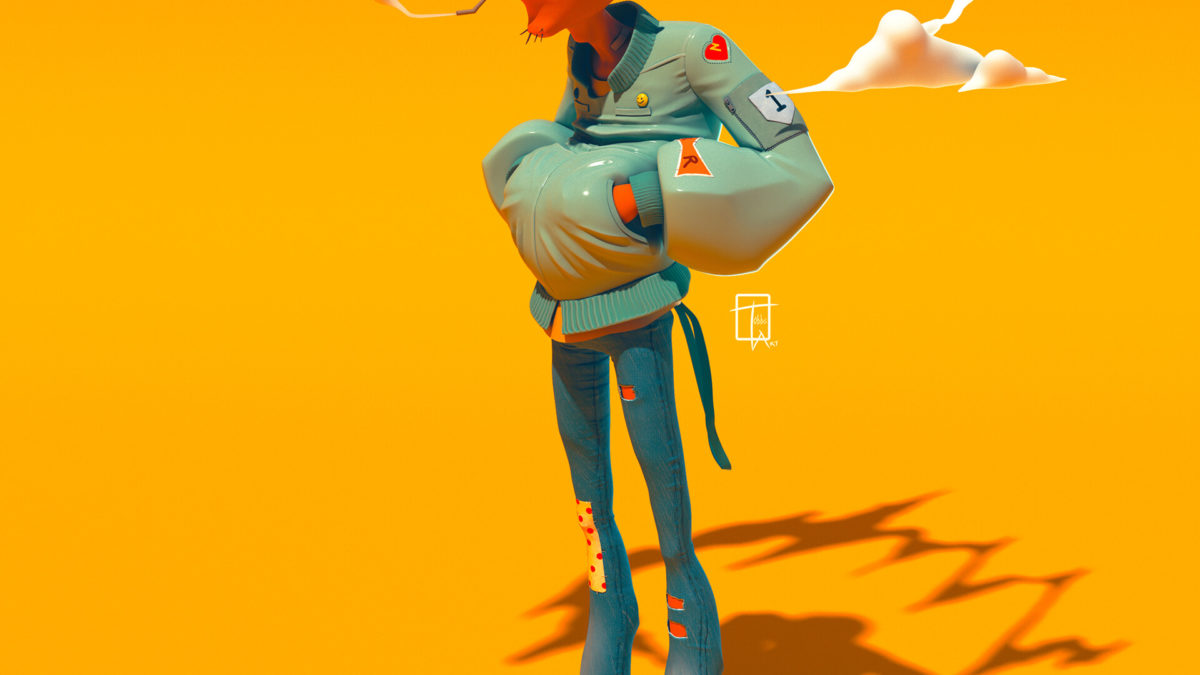 Bahari Blue #14 – The 3D Art of Bertil Toby Svanekiaer