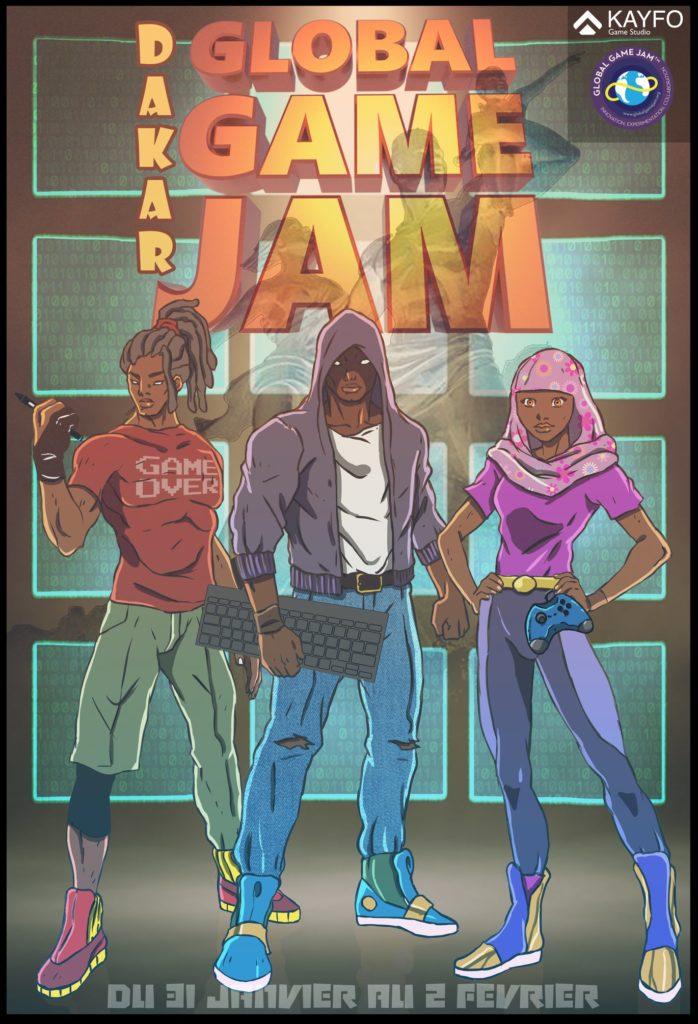 Dakar Global Game Jam 2020