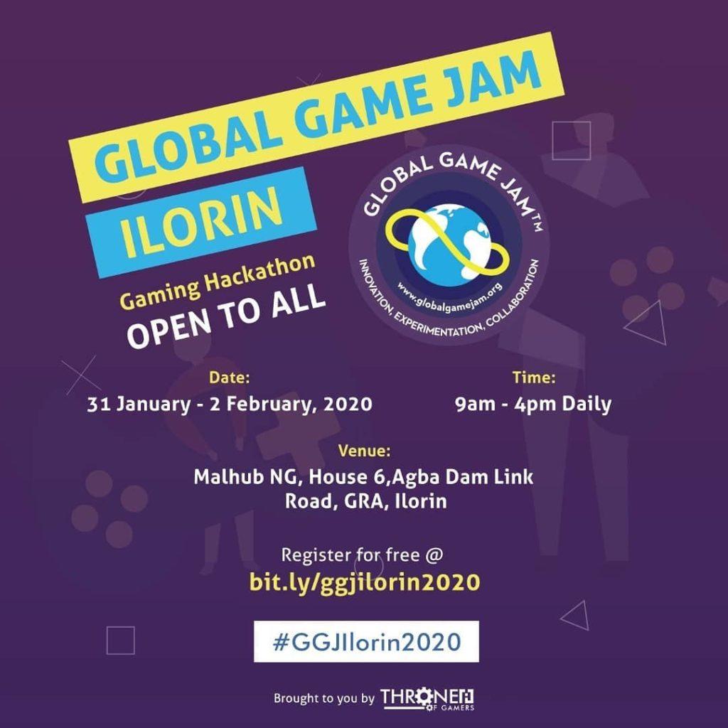 Global Game Jam Ilorin 2020