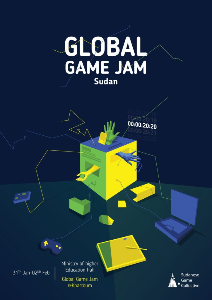 Global Game Jam 2020 Sudan