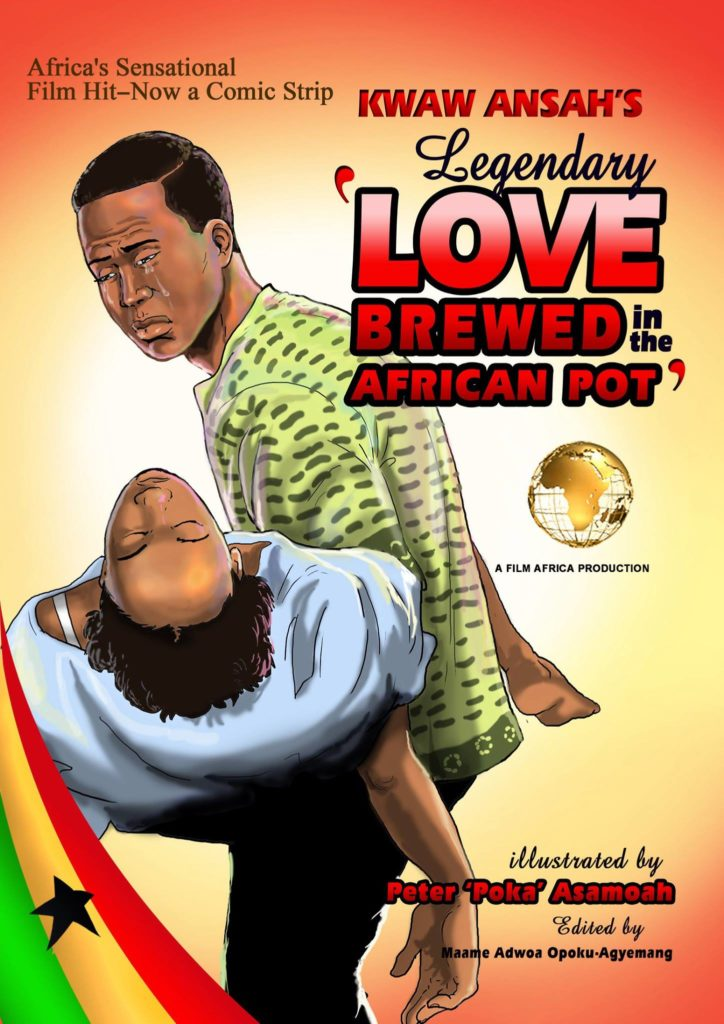 Love Brewed in the African Pot comic book adaptation by Poka Arts