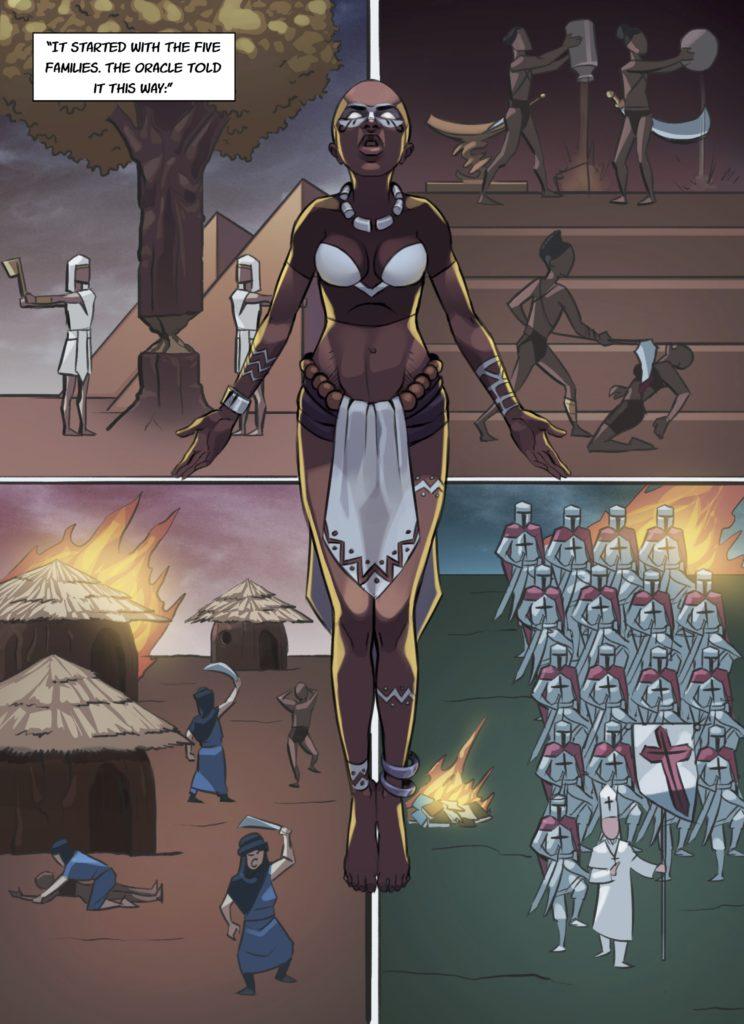 moongirls chapter 1 art by AnimaxFYB Studios