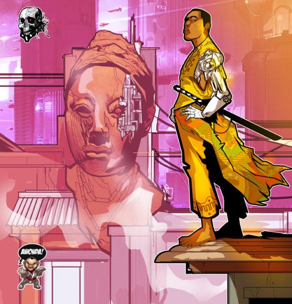 Naija Cyberpunk by Collyde Prime