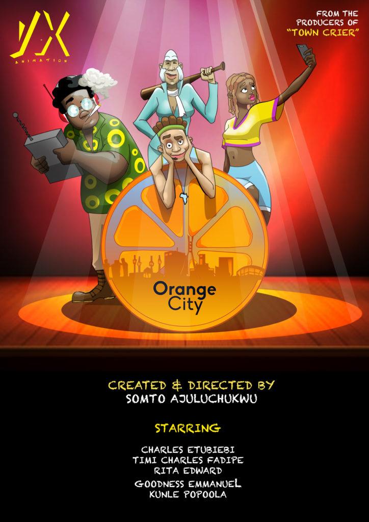 Orange City Film Poster