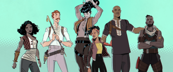 Outcasts of Jupiter Creators for Creators Grant