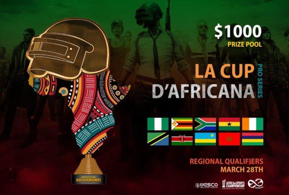 La Cup D'Africana PUBG Mobile Pro Series