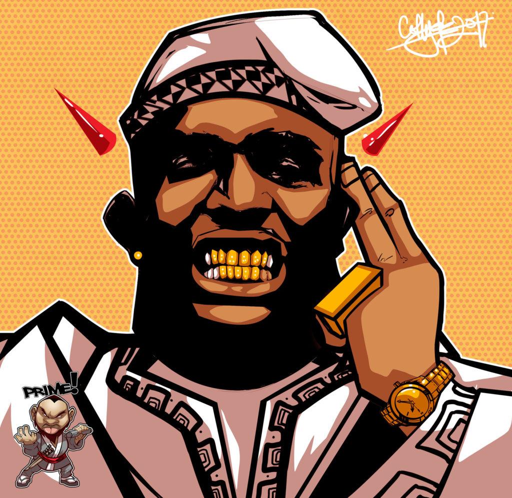 Naija pop art by Prime