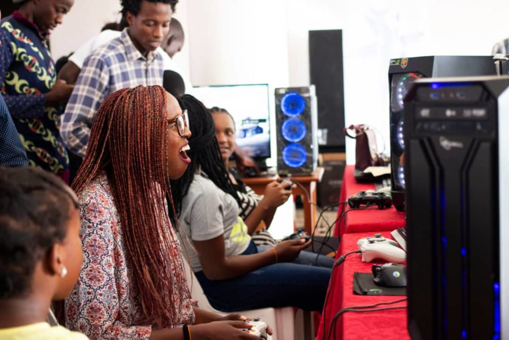 Gamer sessions at DigiArt Fest 2019