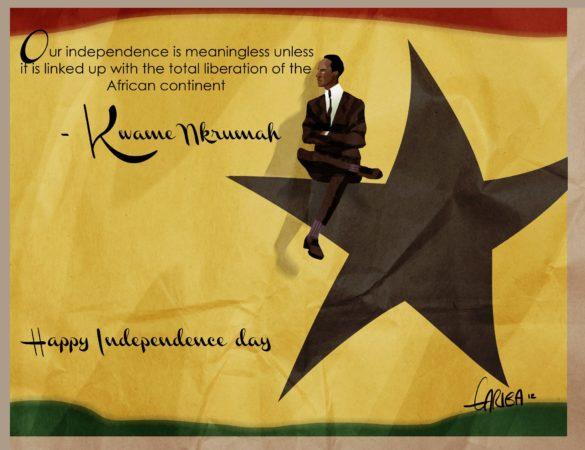 Ghana Independence by Gyimah Gariba