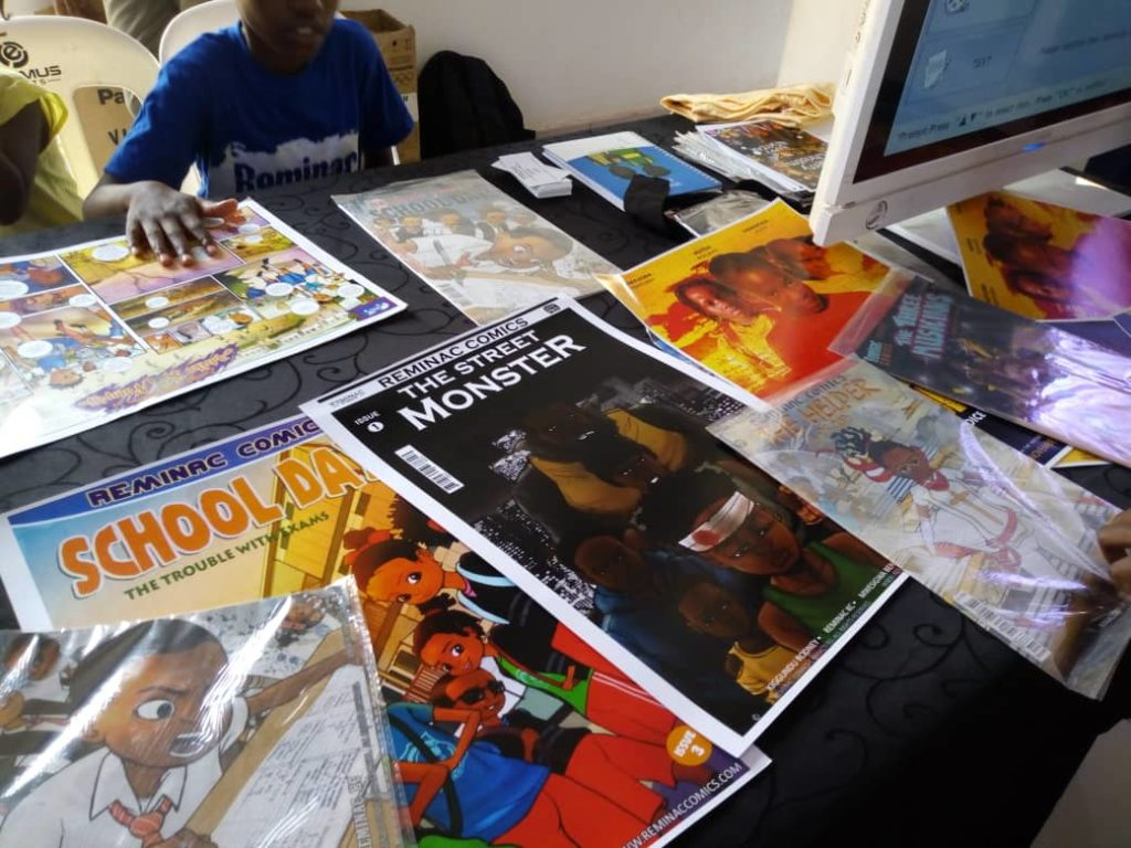 Reminac Comics at DigiArt Fest 2019