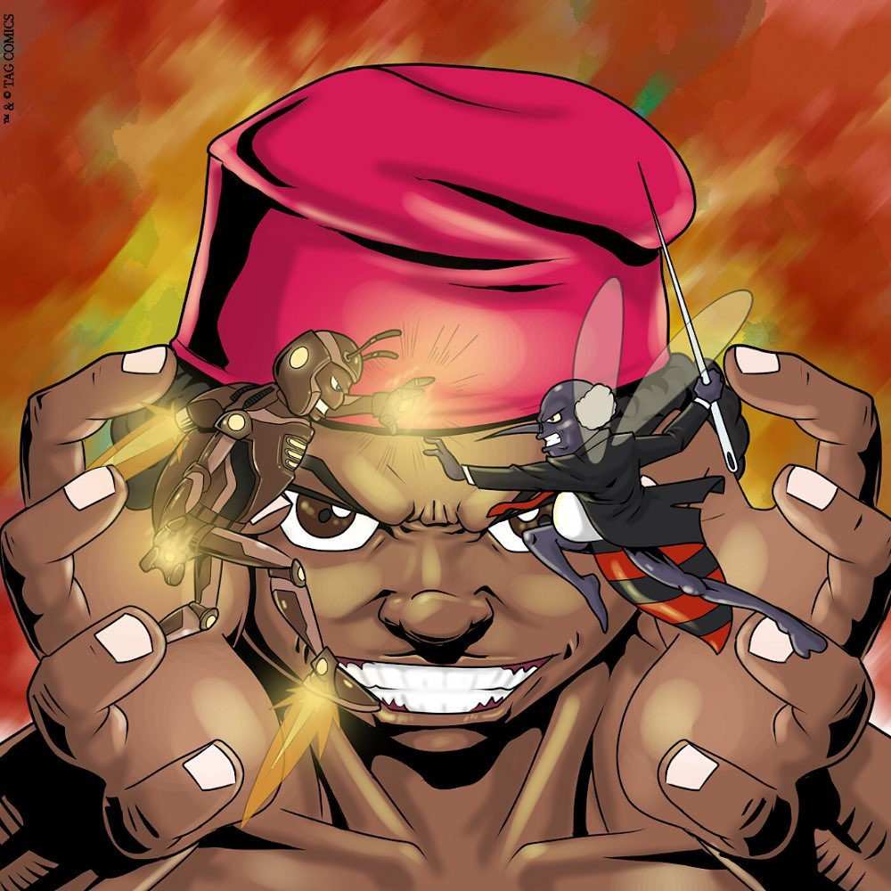 Kpakow comic by TAG Comics. Art by Etu Prince Etu