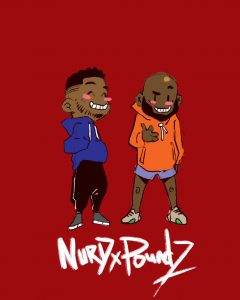 Nurd x Poundz comic by Kobina Taylor