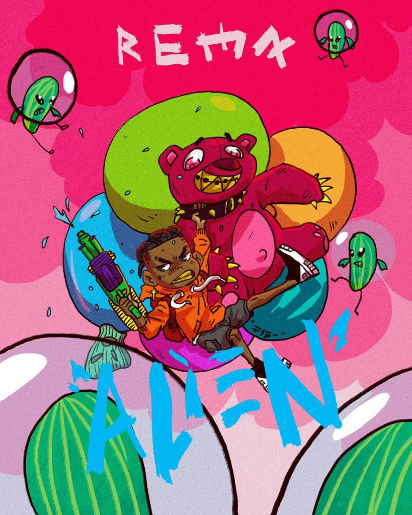 Rema Alien song cover by Kobina Taylor