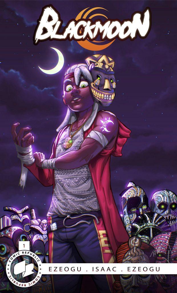 Blackmoon comic book by Tobe Ezeogu Comic Republic