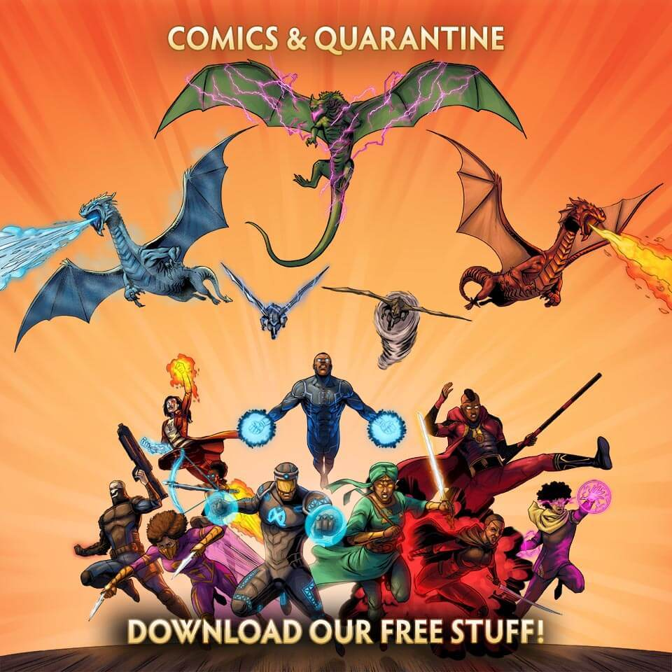 Comics & Quarantine by YouNeek Studios