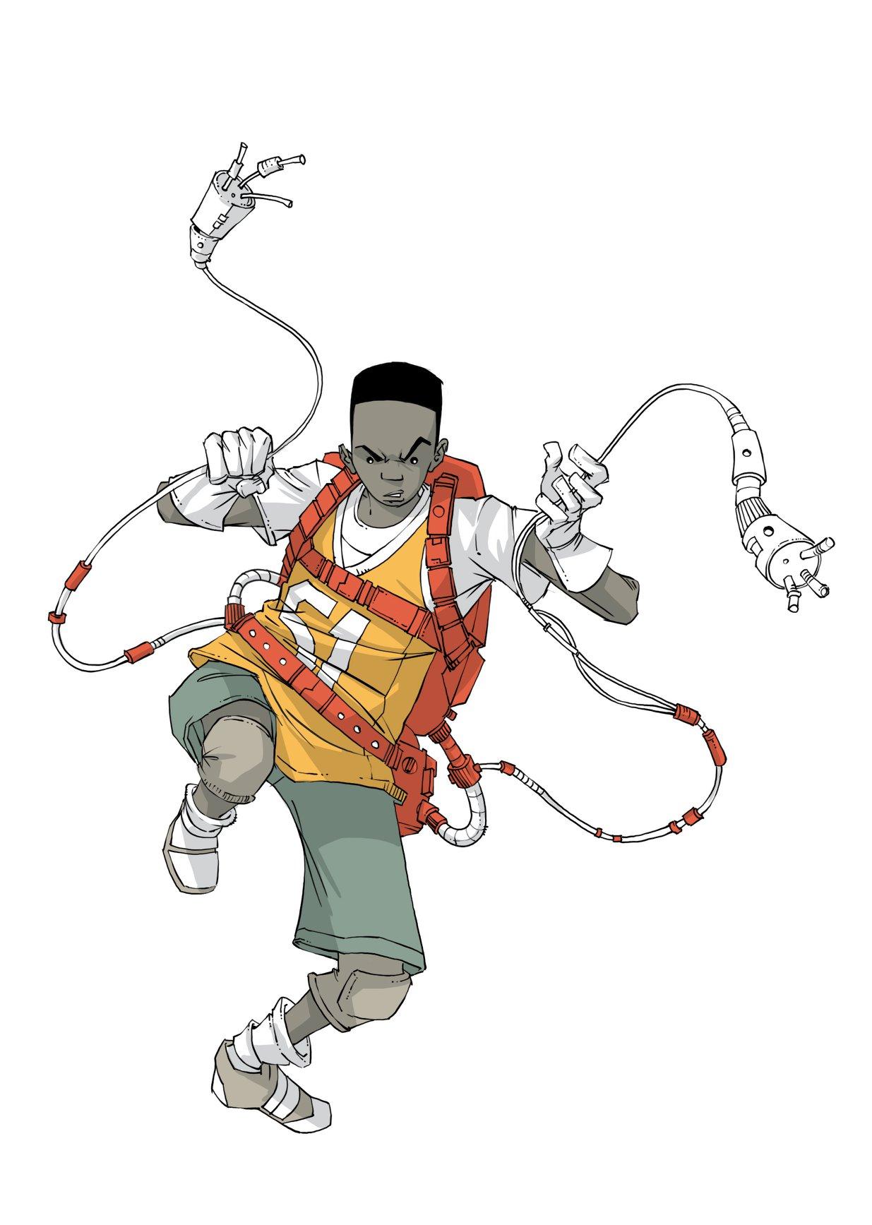 Esticão from Os Informais illustrated by Hélios Januário