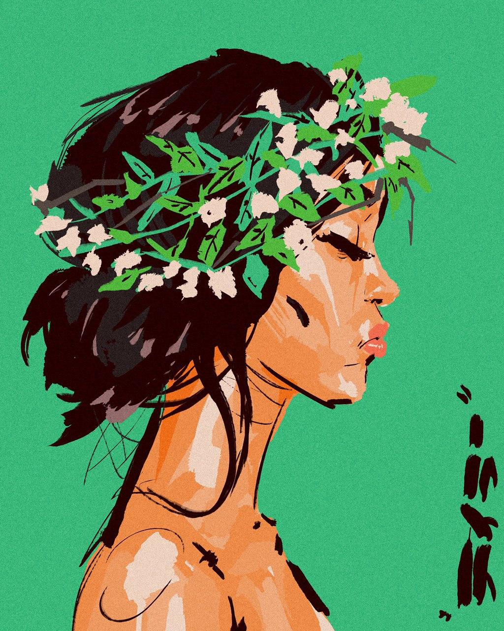 Evergreen by Kobina
