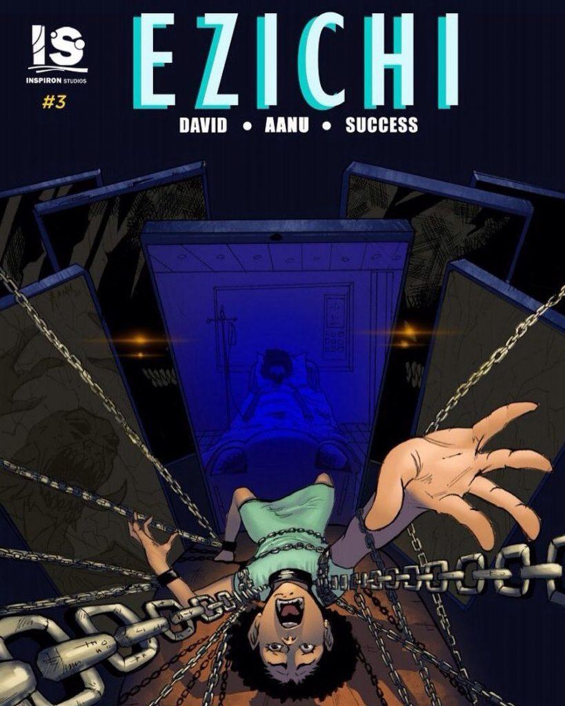 Ezichi comic book from Nigeria
