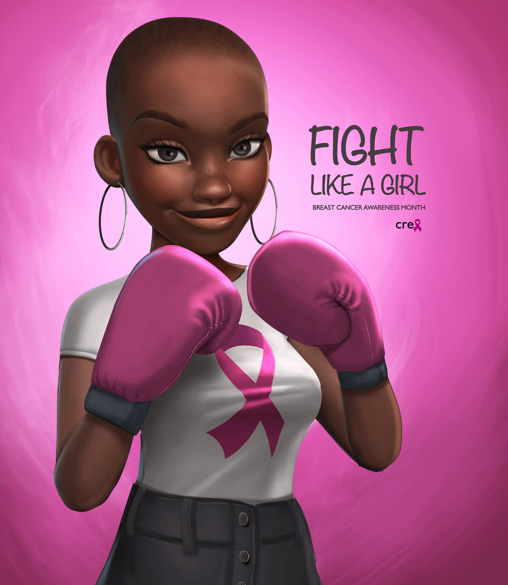 Fight Like a Girl by Nils Britwum