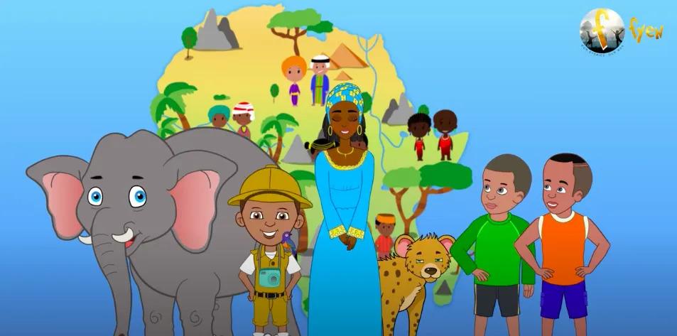 Fye Network Gambia animated series