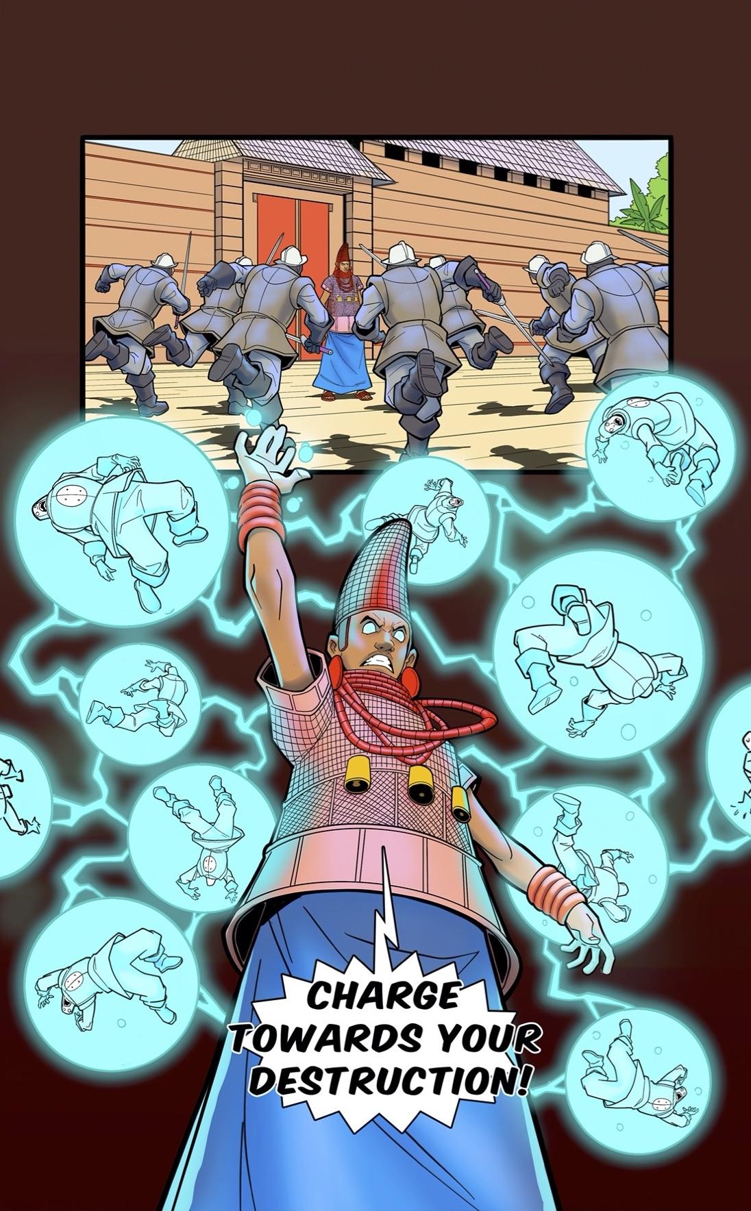 Iyoba Idia from Legend of Yasuke
