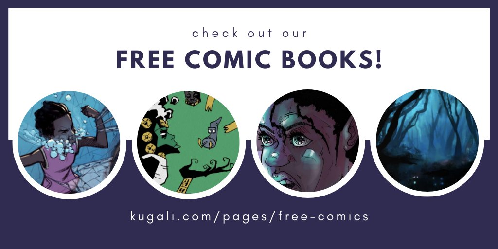Free Comic Books by Kugali during quarantine