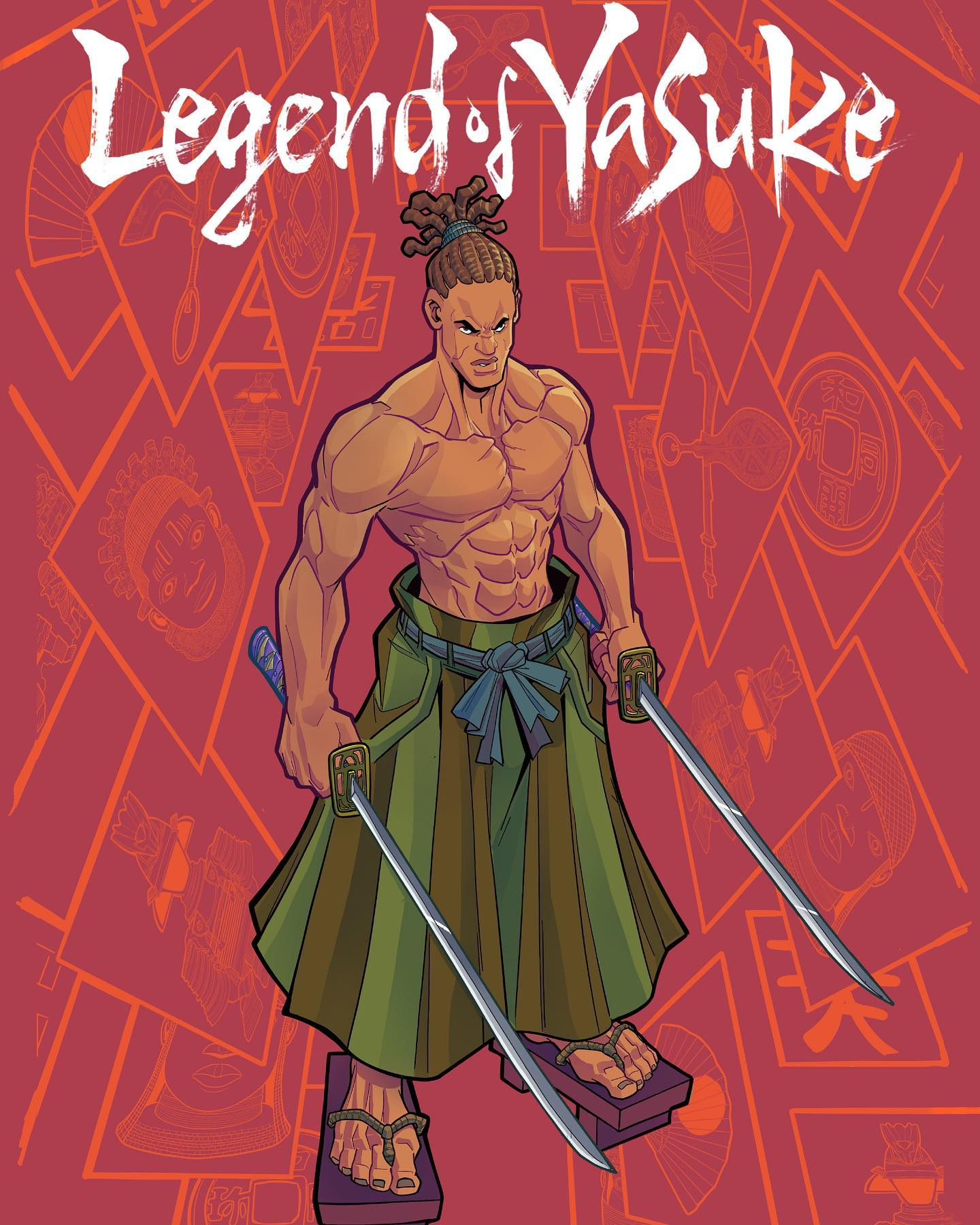 Legend of Yasuke by TAG Comics