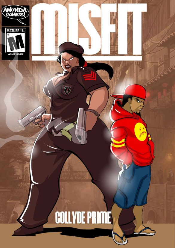 Misfit by Collyde Prime (Awonda Comics)