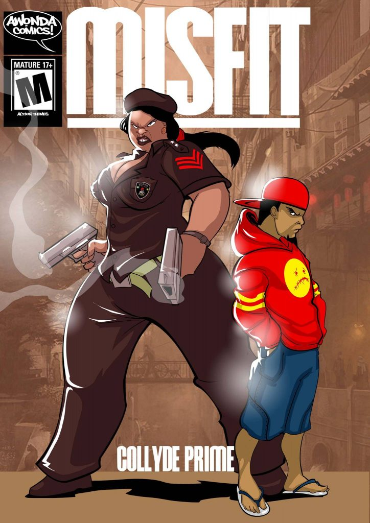 Misfit by Collyde Prime (Awonda Comics)