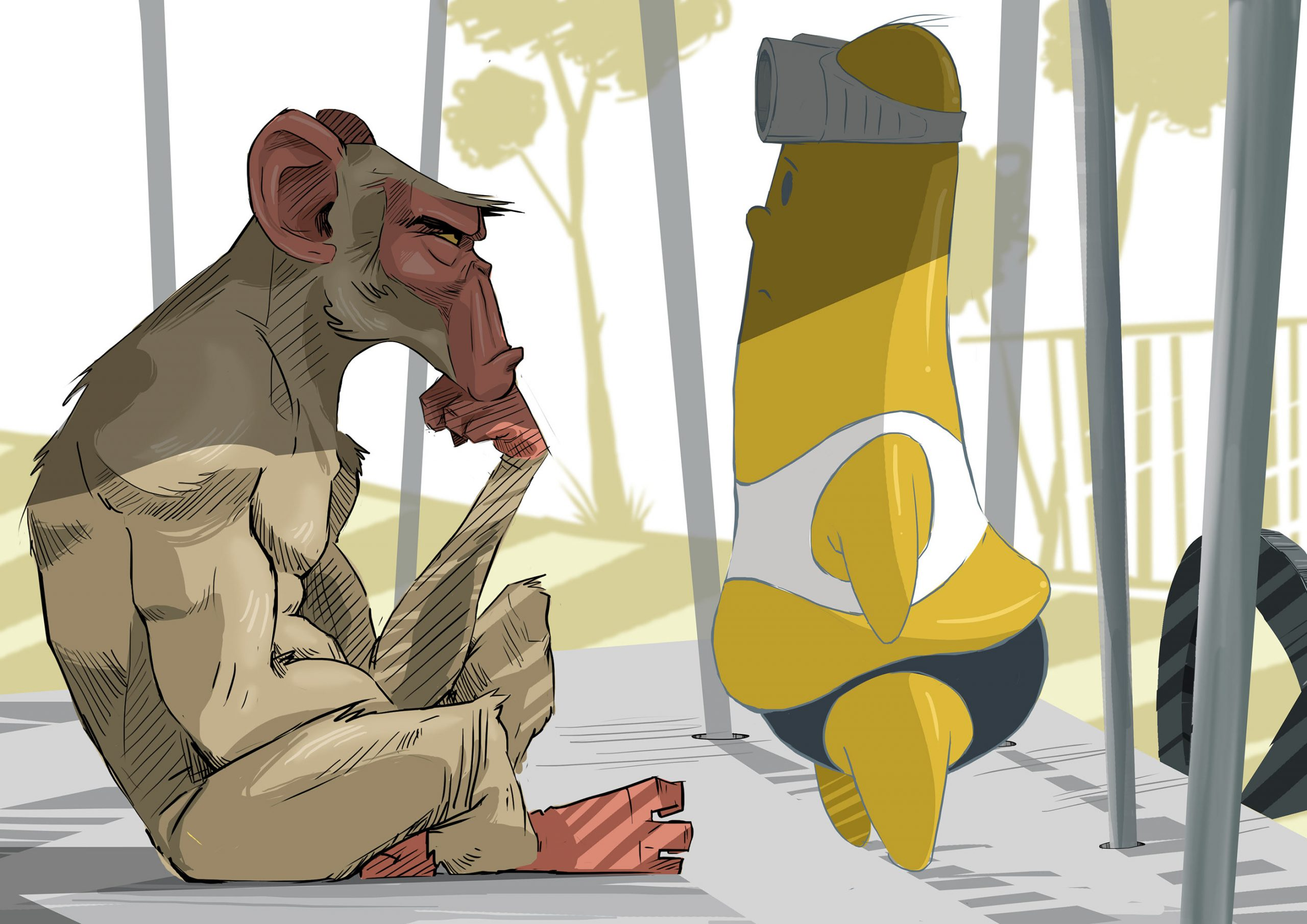 Monkey Business by Mogau Kekana