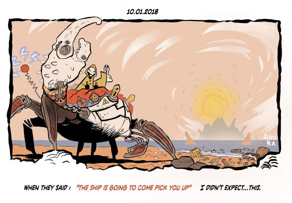 Monkey Meat Safari by Juni Ba