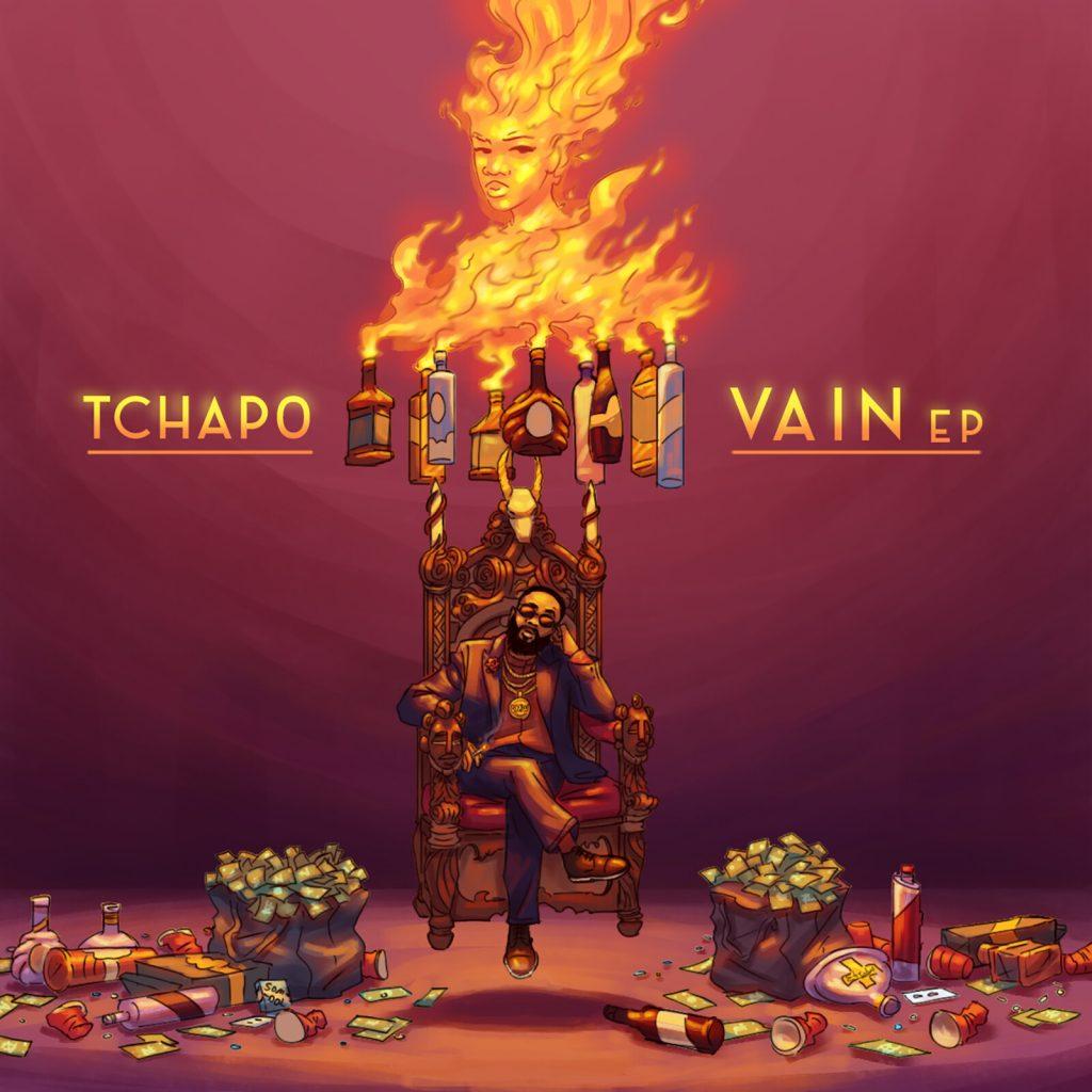 Vain EP cover art by Etubi Onucheyo