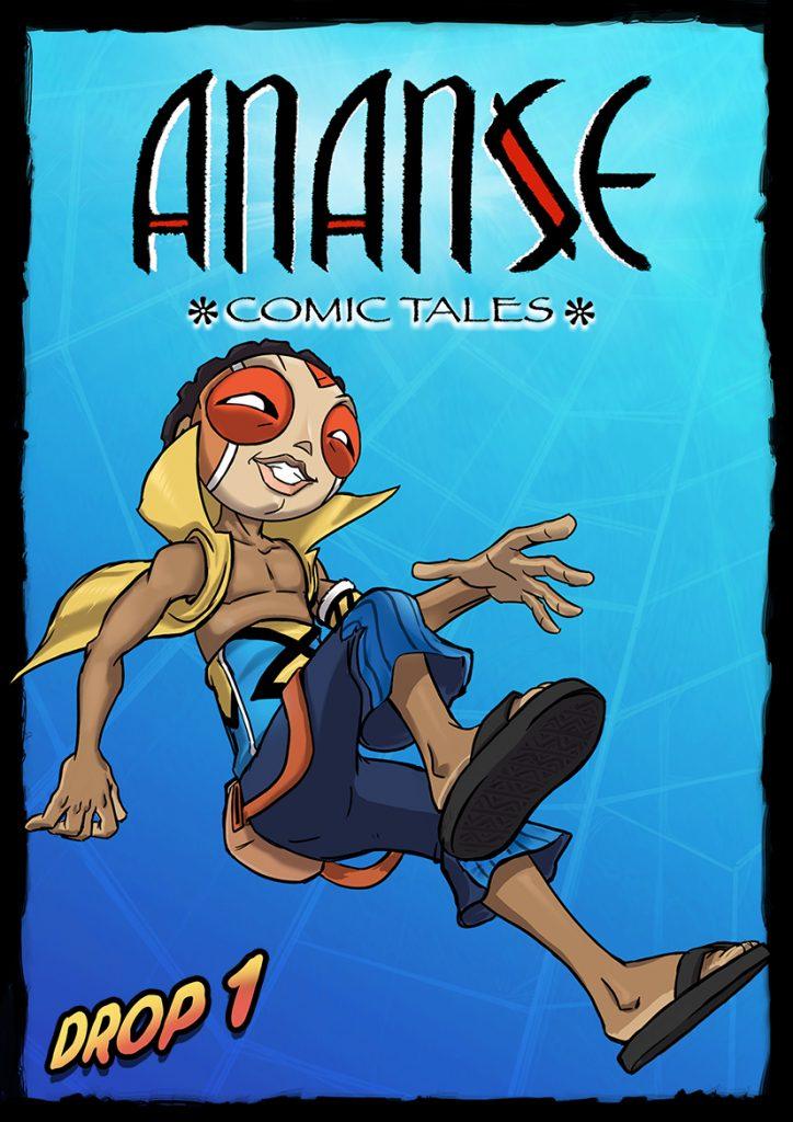 Ananse Comic Tales by Kiaski Donkor