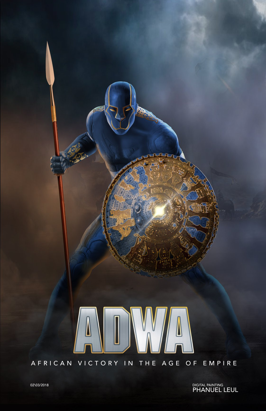 Adwa character design by Fanuel Leul