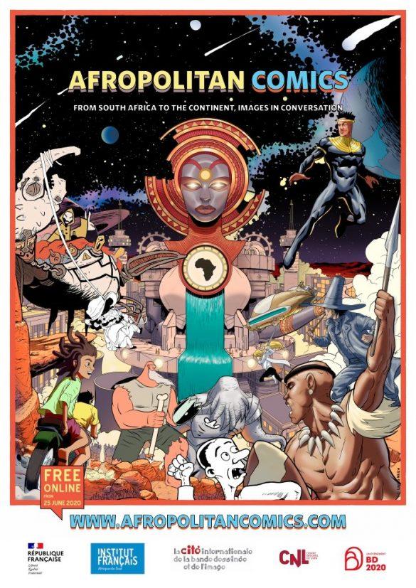 Afropolitan Comics designed by Loyiso Mkize