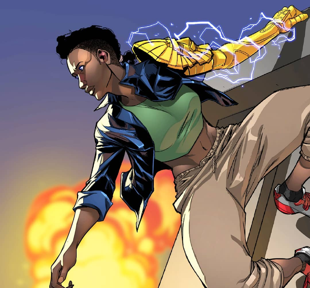 Ireti Bidemi comic book character illustrated by Stanley Stanch Obende