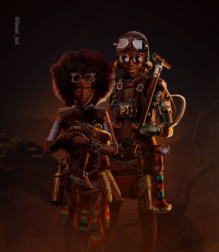 This is our land by Fanuel Leul, an Ethiopian illustrator
