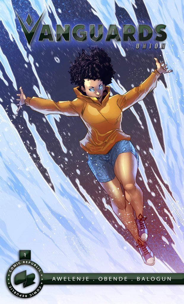 Vanguards Union african superhero comic team