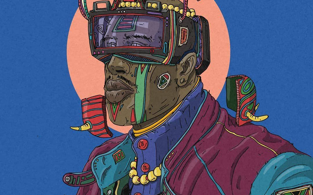 Bahari Blue #29: The Undeniably Cool Art of Jayson Mars