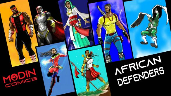African Defenders by Modin Comics