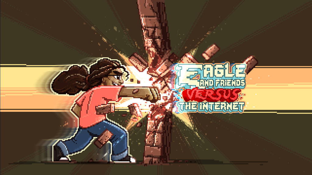 Eagle and Friends Versus the Internet by Ben Geldenhuys