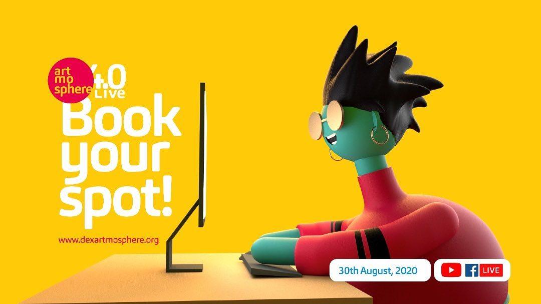 book your spot dEX Artmosphere 2020