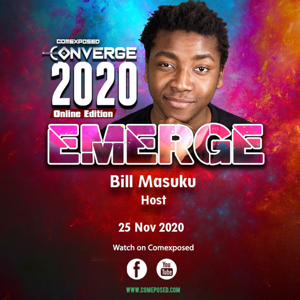 Bill Masuku Comexposed Converge host