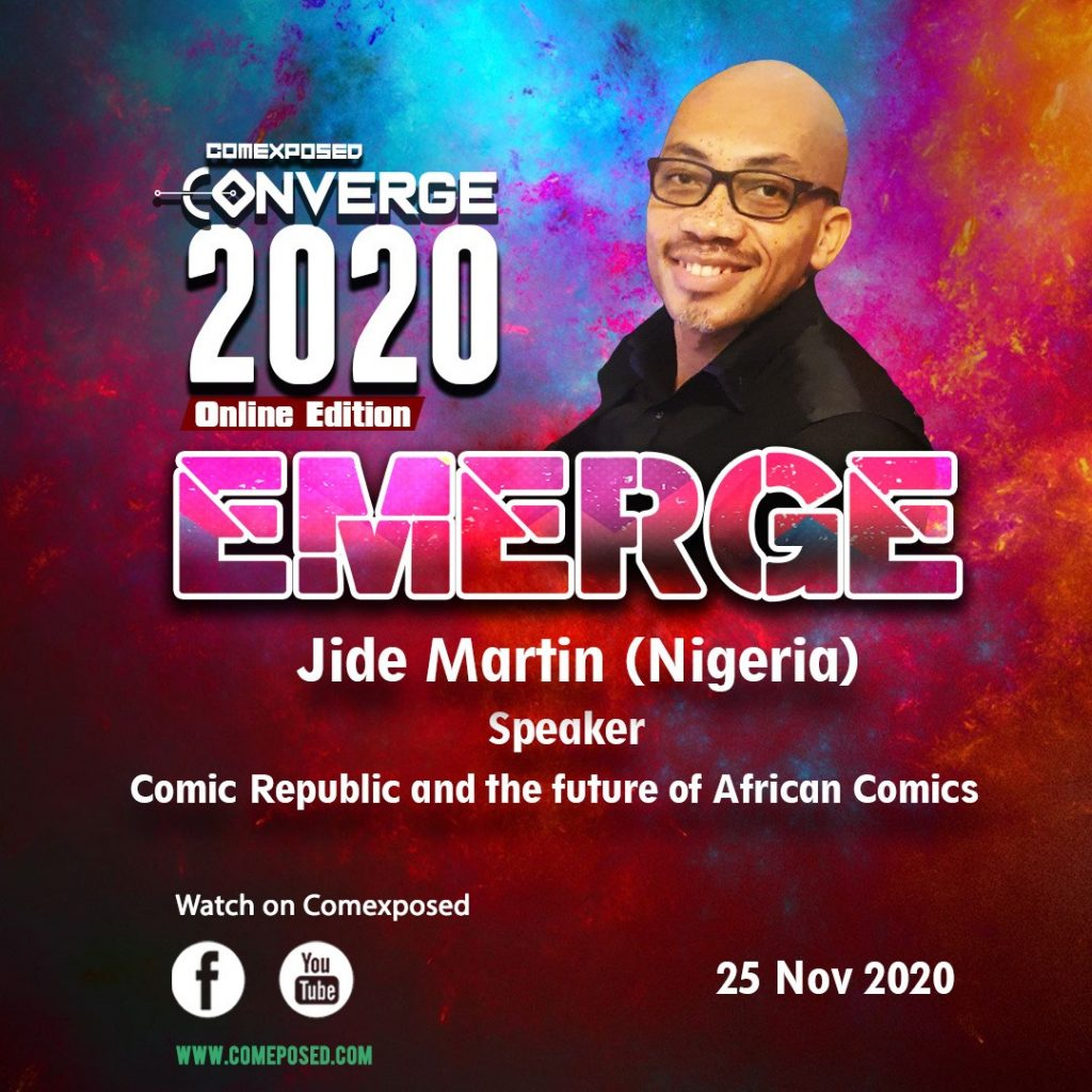 Jide Martin Comic Republic and the Future of African Comics Comexposed Converge