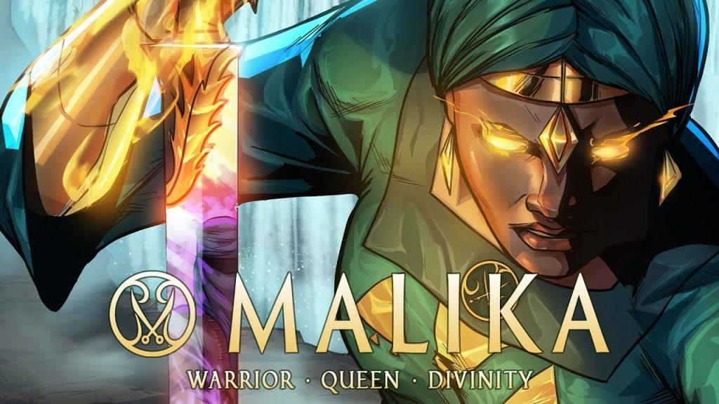 Malika Warrior Queen Indie Comic popular on Kickstarter